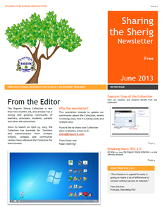 Rigsum Sherig Collection Newsletter, Issue 1